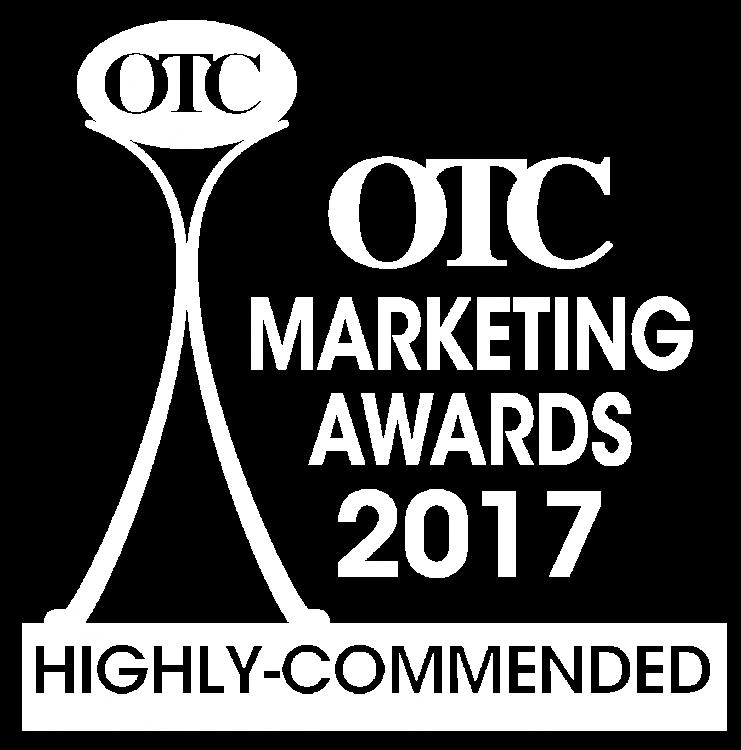 OTC Marketing Awards 2017 Highly-commended