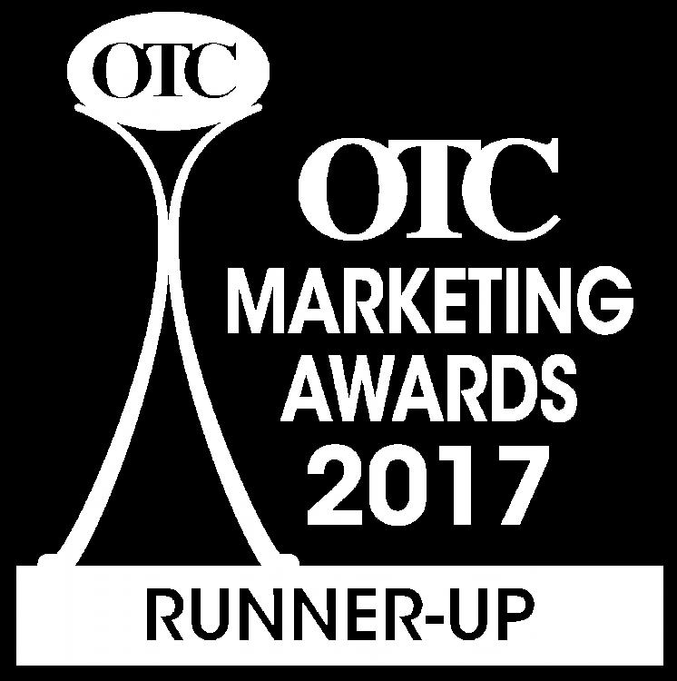 OTC Marketing Awards 2017 Runner-up