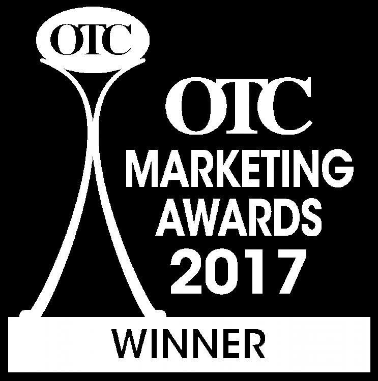OTC Marketing Awards 2017 Winner