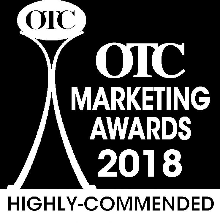 OTC Marketing Awards 2018 Highly-Commended