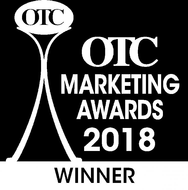 OTC Marketing Awards 2018 Winner
